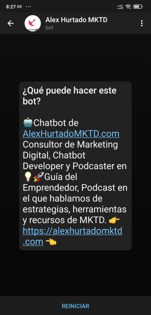 Chatbot de Telegram